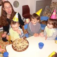 Première coccinelle à avoir 3 ans….ça se fête